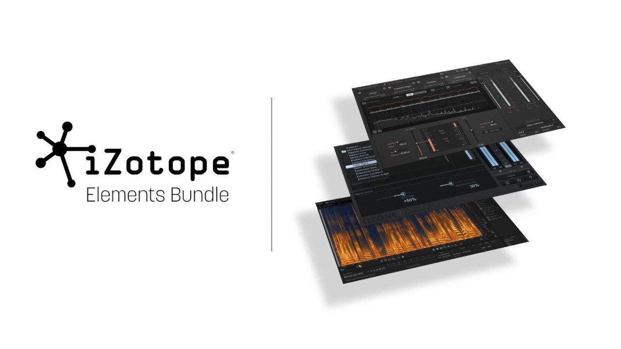 iZotope Elements Bundle | Audio Plug-ins for Repair, Mixing, and Mastering