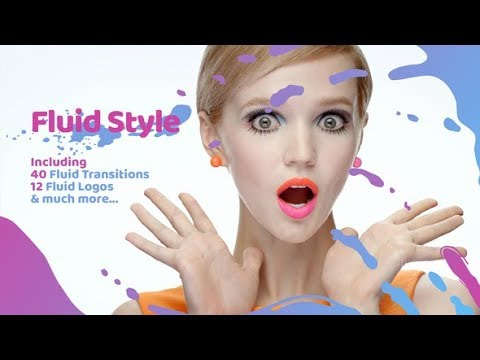 Fluid Style ( After Effects Template ) ★ AE Templates