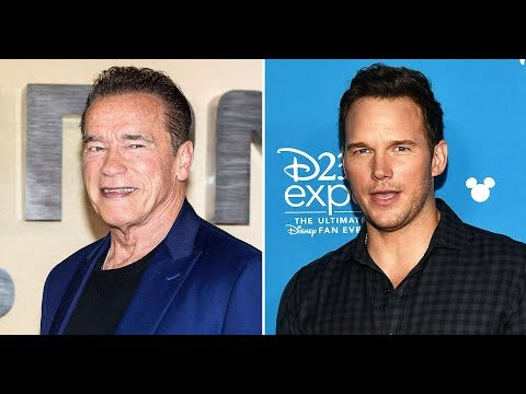 Arnold Schwarzenegger Teases Possibility of Working Alongside Son-in-Law Chris Pratt from YouTube · Duration:  3 minutes 44 seconds
