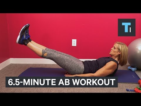 Thumbnail: 12-time Olympic medalist Dara Torres reveals 6.5-minute ab workout