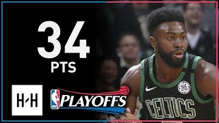 Jaylen Brown Full Game 4 Highlights Celtics vs Bucks 2018 Playoffs - 34 Pts!