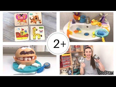 ДЕТСКИЕ ИГРУШКИ 2-3 ГОДА | Развивающие игрушки для детей | ЧТО ПОДАРИТЬ ребенку