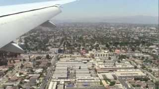 NZ2 - Air NZ 777-300ER - Auckland to Los Angeles with fantastic views of L.A!