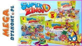 Super Zings seria 3  Złote i srebrne figurki ⚡ unboxing po polsku