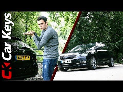 2017 Skoda Octavia Estate Review The Thinking Mans Family Estate Car Keys