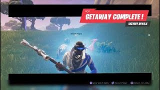 The Road To Victory Royale In Getaway LTM