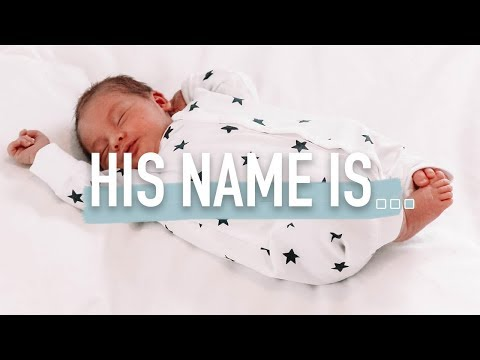 BABY BOYS NAME REVEAL! (we Finally Picked His Name!)