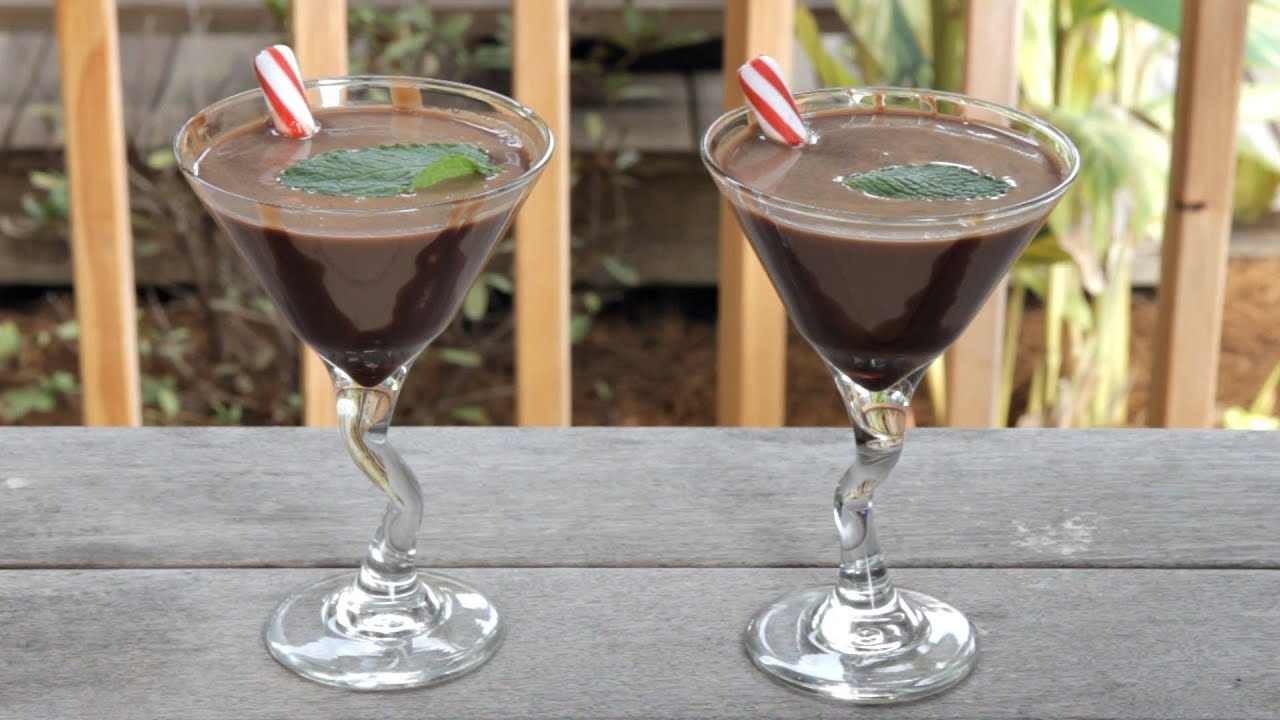 How to make the Thin Mint Martini - Drink Recipe - YouTube