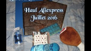 Haul Aliexpress Juillet 2016