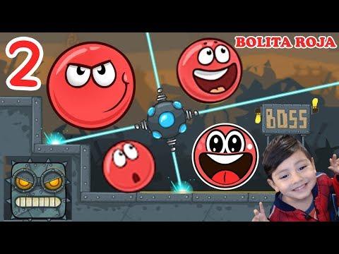 La Bolita Roja en la Fábrica 2 | Juego para niños Red Ball 4 | Juegos Infantiles para niños