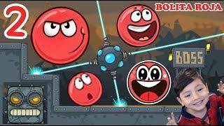 La Bolita Roja en la Fábrica 2   Juego para niños Red Ball 4   Juegos Infantiles para niños thumbnail