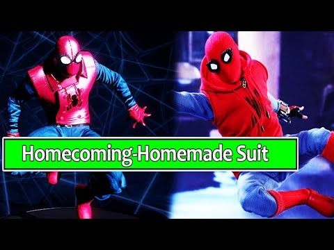 Spider-man: Homecoming Homemade Suit (Spider-man Shattered Dimensions PC MOD)