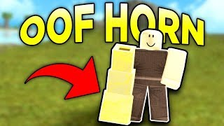 UNLOCKING THE NEW OOF HORN (ROBLOX BOOGA BOOGA)