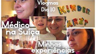 Fomos ao pediatra & minha experiência com médicos na Suíça | #Vlogmas 10