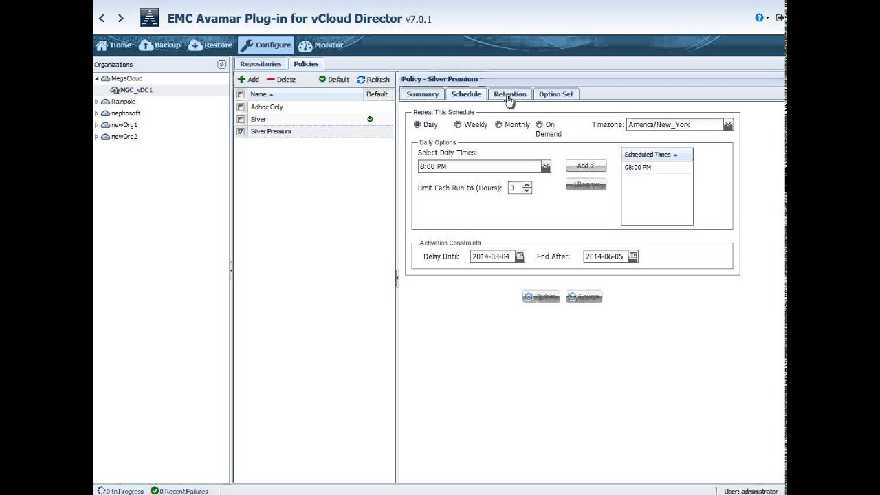 Enabling Backup-as-a-Service with EMC Avamar Plug-In for vCloud ...