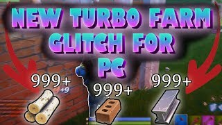 NEW Fast Farm Glitch on PC S5(After Patch) - Fortnite Battle Royale