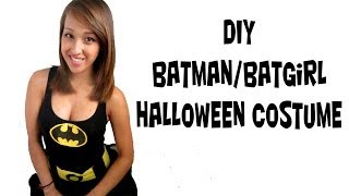 Batman/ Batwomen Costume (fast Easy Simple Diy)