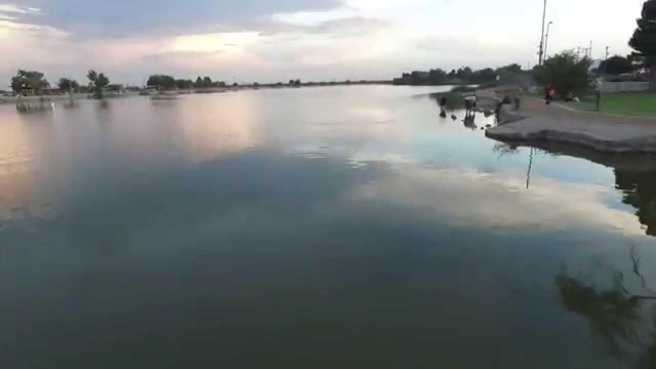 Uv splash ascarate park youtube for El paso fishing