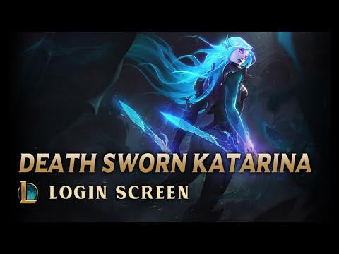Death Sworn Katarina | Login Screen - 죽음의사도 카타리나 로그인화면 Fanmade