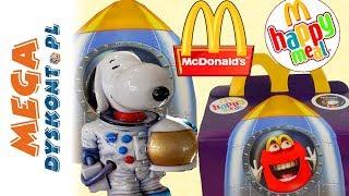 Happy Meal  Snoopy w kosmosie  Fistaszki zabawki  McDonalds 2019