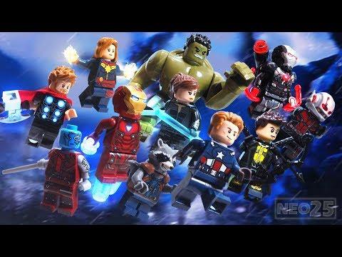 Avengers Endgame Teaser Trailer Lego Stop Motion