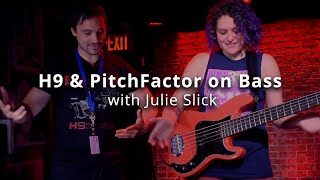 On the Road: Adrien Belew Power Trio's Bassist Julie Slick