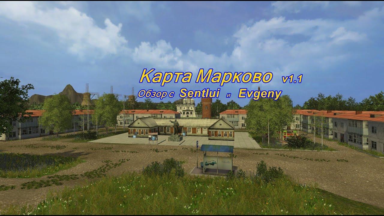 Farming Simulator 2015 Obzor Na Kartu Markovo V1 1 Youtube