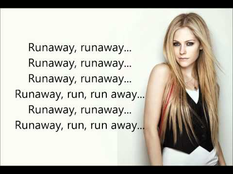 Avril Lavigne - Runaway +Lyrics