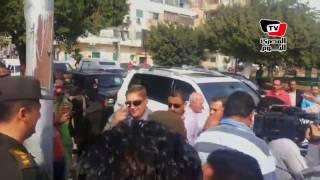 محافظ الاسماعيلية ومدير الأمن يتفقدان ميدان الثورة