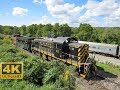 ⁴ᴷ Alco Power At Rochester & Genesee Valley And New York Museum of Transportation