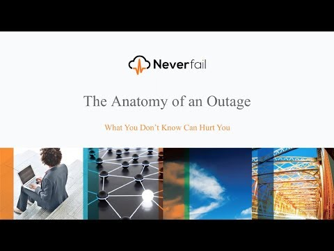 Anatomy of an Outage Webinar