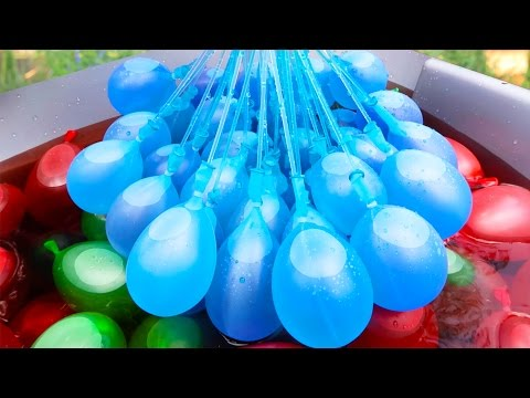 Thumbnail: Do Color Combat Water Balloons Really Work? | Fab or Fail | Brooklyn and Bailey