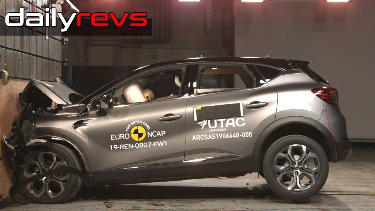 2019 Renault Captur | Euro NCAP | ⭐⭐⭐⭐⭐ Stars | Crash test
