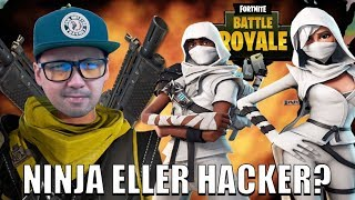 NINJA OR A HACKER WHO LAGGER!? 🤖 | Norwegian Fortnite Solo