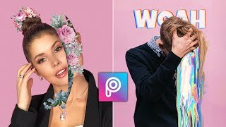 how to edit photo with PicsArt step by step!
