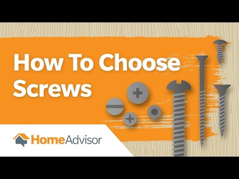 How to Choose Screws | Screw Size Guide
