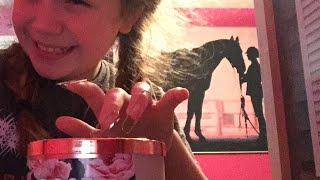 ASMR paper clip nails tapping on different sounds and materials Here comes tingles!!!!