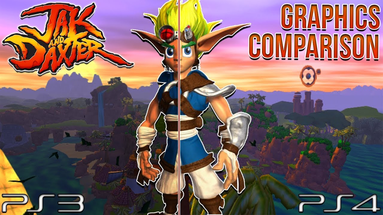 Jak And Daxter Ps4 Vs Ps3 Graphics Comparison Youtube