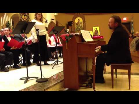 Christmas Carols 2012 from Ss. Nicholas, Constantine & Helen Greek Orthodox Church Roseland, NJ USA