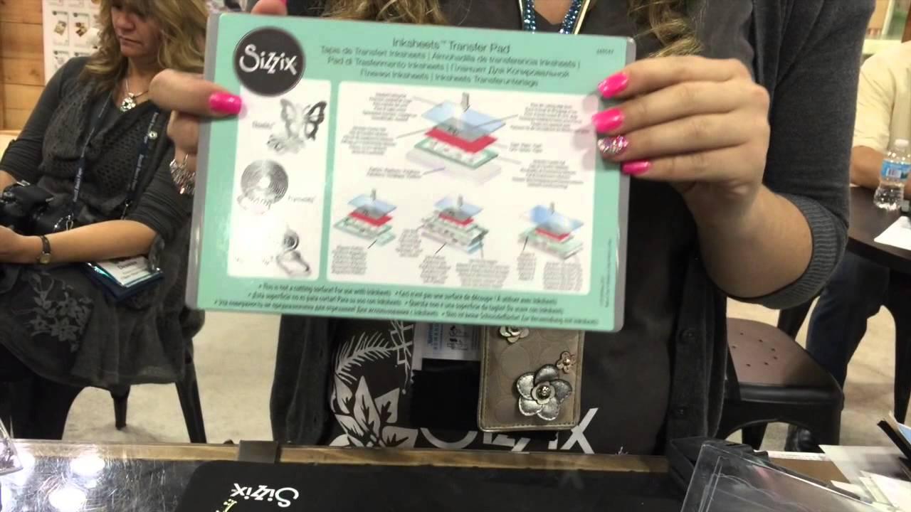 Sizzix Ink Transfer Sheets - CHA Summer 2015