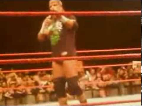 HHH Throws Me His T-Shirt DX Final Appearance In Dublin Pt1