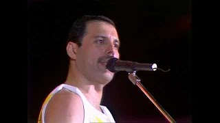Queen Crazy Little Thing Called Love Live At Wembley Stadium Friday 11 July 1986