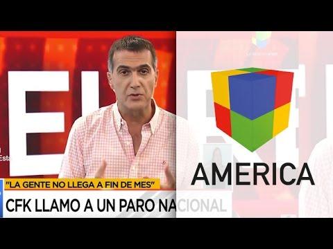 Cristina Fernández llamó a un paro nacional