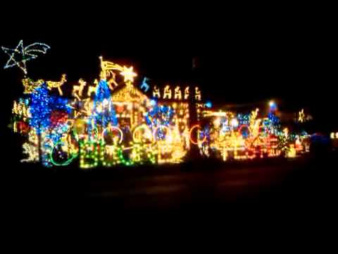 Best Christmas Light display ever in Vancouver B.C Canada - YouTube