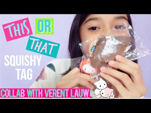 🇮🇩This or That Squishy Tag (Indonesia) | Collab with Verent Lauw