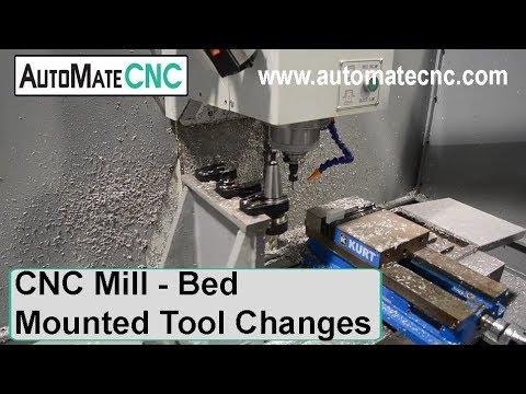 Small CNC Bed Mill | AutoMateCNC - MT200 Small CNC Bed Mill