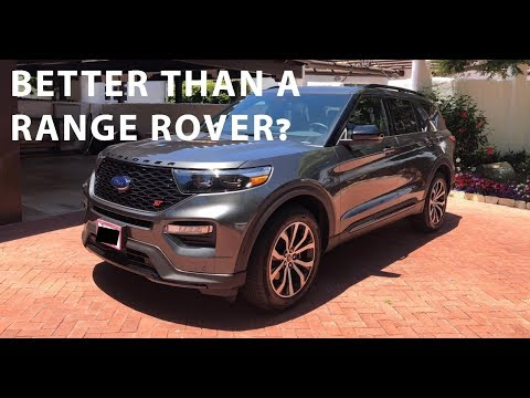 2020 Ford Explorer ST - Review (Metallic Magnetic Grey)