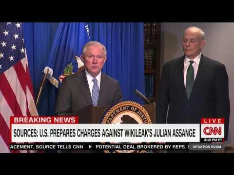 U.S PREPARING CHARGES AGAINST WIKILEAKS JULIAN ASSANGE