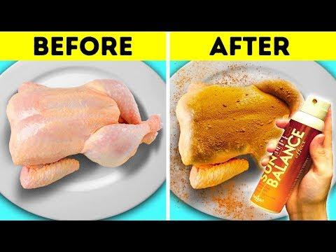 FOOD ADS VS  REAL LIFE
