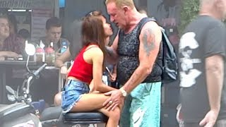 Pattaya Soi Chaiyapoon - Massage Shop Review   Walking Street, Soi Buakhao Scenes    Thailand 2019